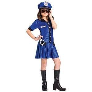 תחפושת מפקדת משטרה לילדות