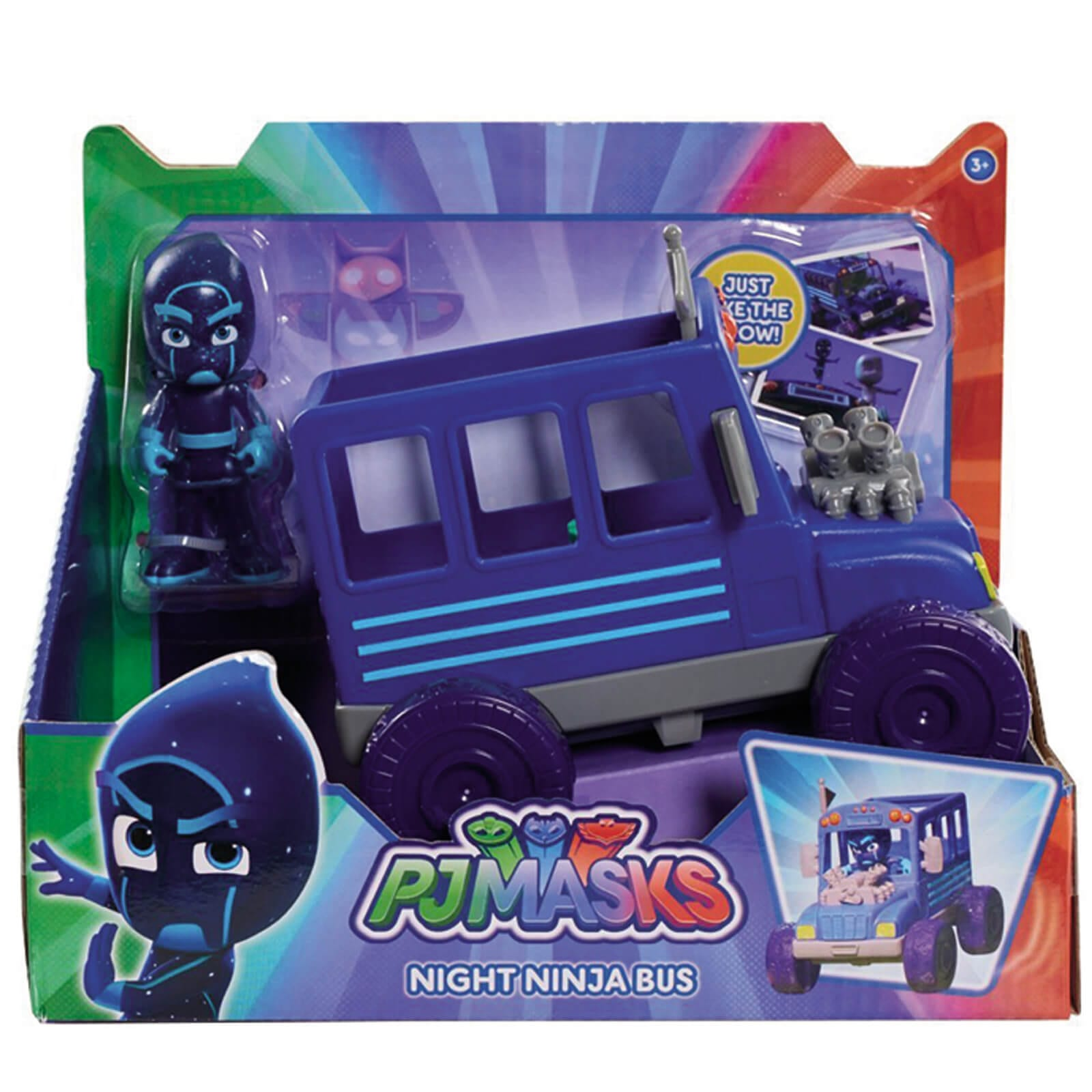 אוטובוס נינג'ת לילה – כח פי ג'יי