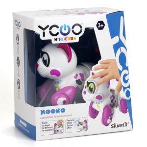 חתול רובוט – מוקו – סילברליט