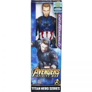 דמות קפטן אמריקה סדרת הטיטאנים