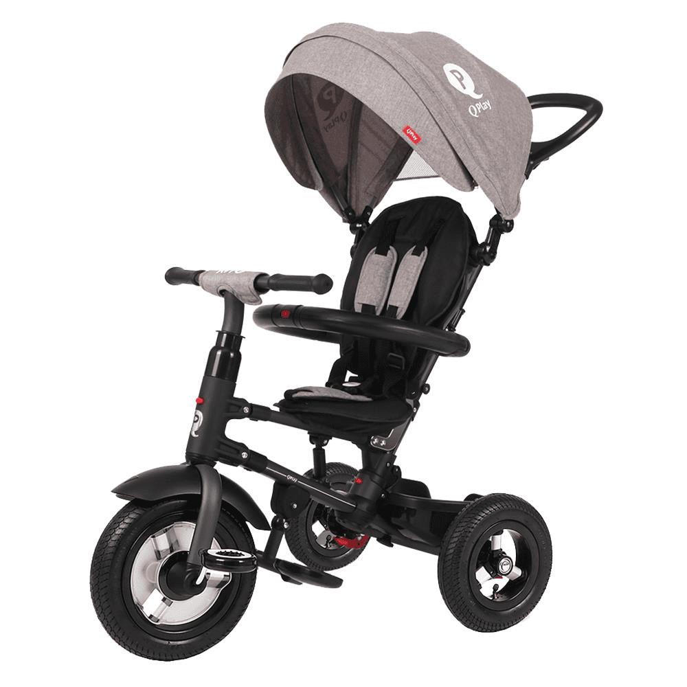 תלת אופן מתקפל לתינוקות ריטו גלגלי אוויר QPLAY RITO