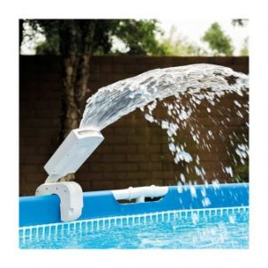 מזרקת מים עם תאורת לד לדופן הבריכה אינטקס דגם 28089