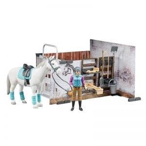 62506 רוכבת סוס – BRUDER