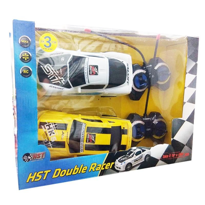 2 מכוניות על שלט – HST Double Racer