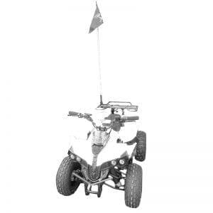 Motors Tiger ETM970R – טרקטורון ממונע לנוער – 48 וולט