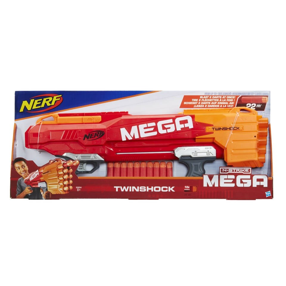 רובה נרף טווין שוק – NERF MEGA TWIN SHOCK