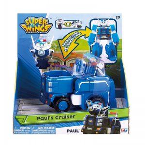 הניידת של פול- הופכת לרובוט – מטוסי על