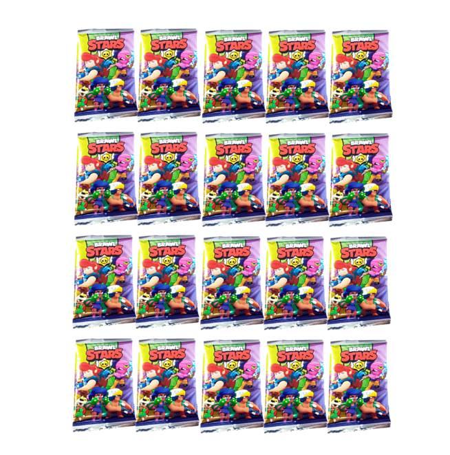 20 חבילות קלפים BRAWL STARS
