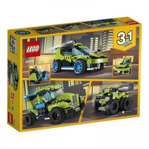 לגו – קריאטור מכונית ראלי ירוקה 3 ב-1 – 31074