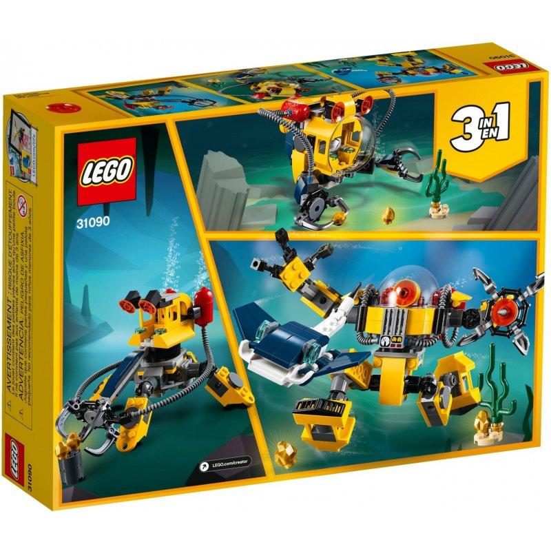 לגו – קריאטור רובוט תת ימי 3 ב-1 – 31090
