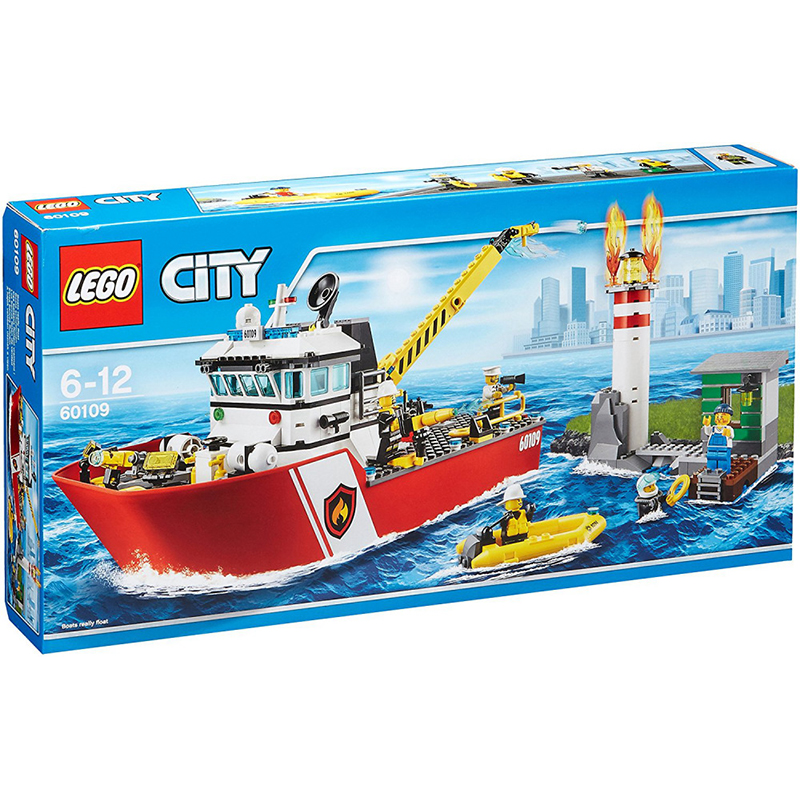 לגו – ספינת כבאים – 60109