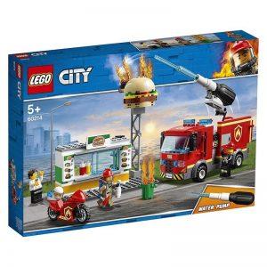 לגו סיטי – שריפה בבורגר בר – 60214