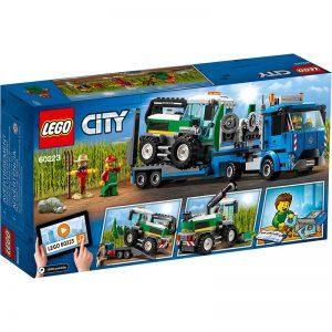 לגו סיטי – טרקטור חקלאי ומשאית – 60223