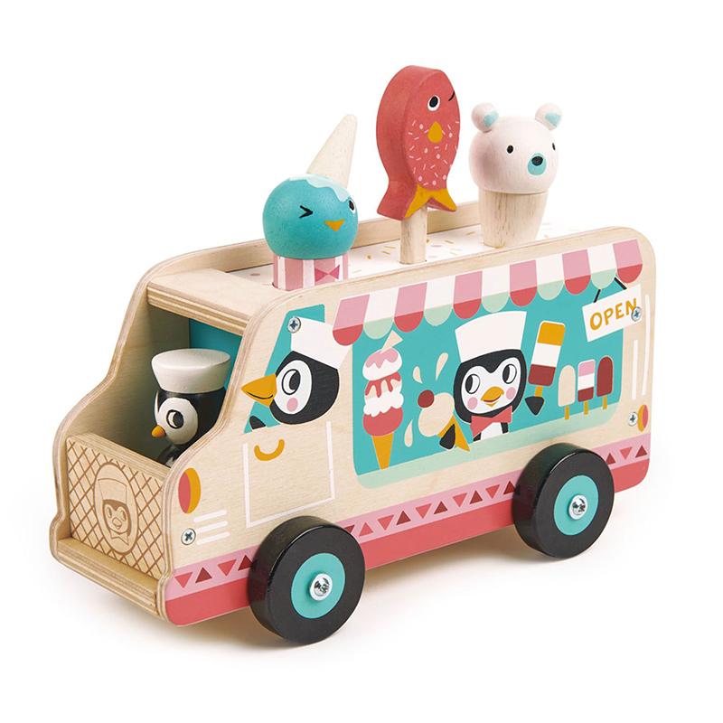 אוטו גלידה פינגווין מעץ