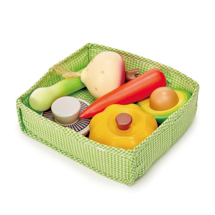 ארגז ירקות מעץ