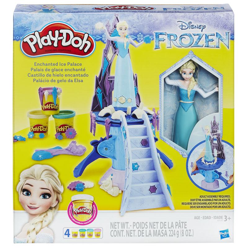 פליידו Play-Doh – ארמון הקרח הקסום של אלזה