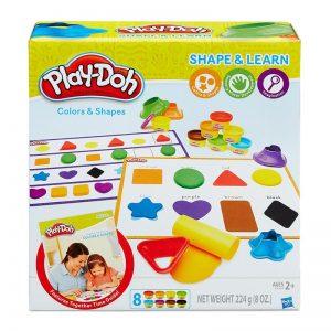 פליידו Play-Doh – צורות וצבעים