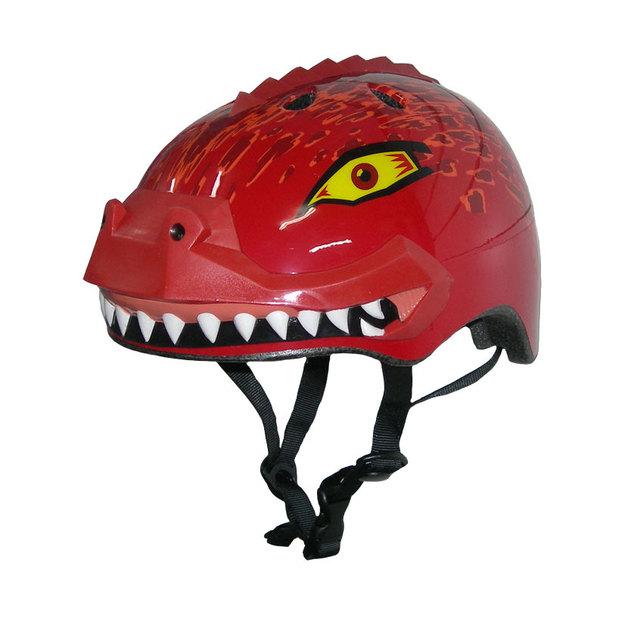 קסדה לילדים דרקון אדום Raskullz