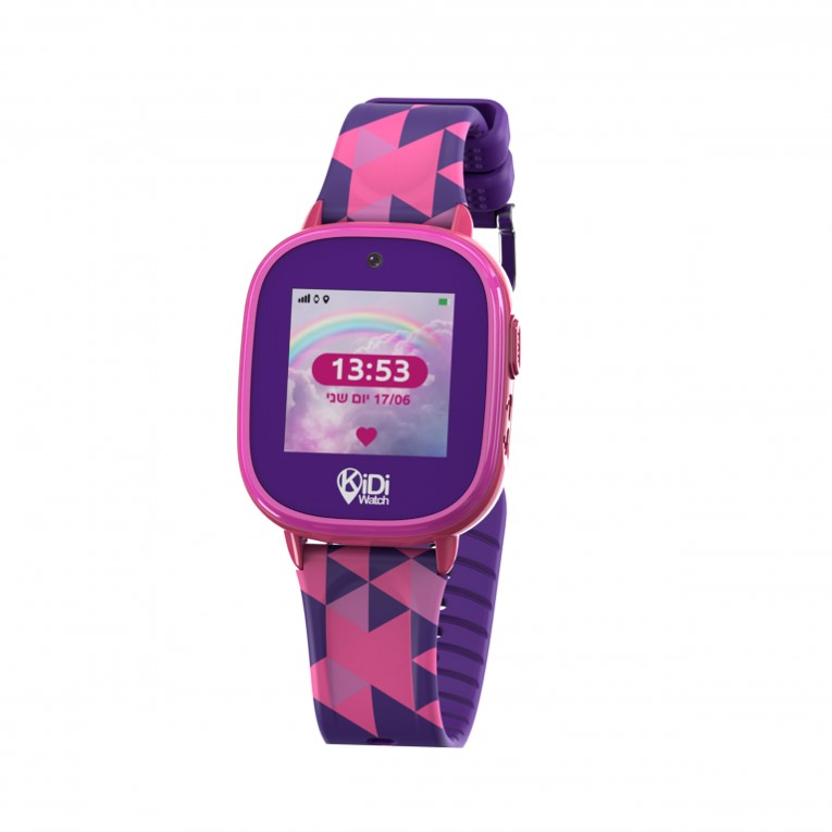 קידיוואצ פרו 2 שעון חכם עמיד במים -סגול – kidiwatch PRO2