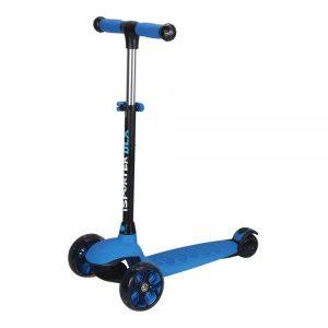 קורקינט ילדים 3 גלגלים מתכוונן FUN-WHEEL DLX כחול
