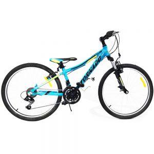 אופני אלומיניום לילדים ונוער – טורנדו הרים M7 טורקיז