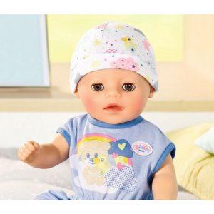 """בייבי בורן בן קטנטן 36 ס""""מ – בובת תינוק עושה פיפי ובוכה"""