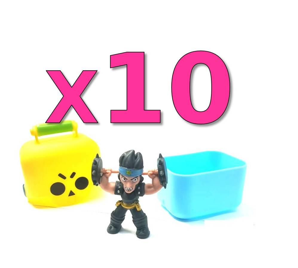 10 חבילות BRAWL STARS – דמות בקופסת הפתעה