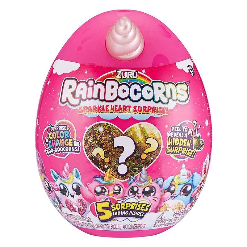 ריינבוקורן בייבי עונה 2 – Rainbocorns ביצת הפתעה קטנה עם בובה