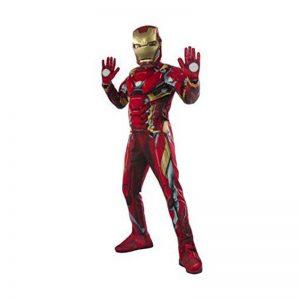 תחפושת איירון מן + כפפות מלחמת האזרחים ילדים – פורים רוביס