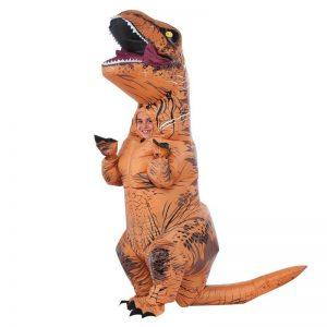 תחפושת מתנפחת דינוזאור טי רקס עולם היורה לילדים- פורים רוביס