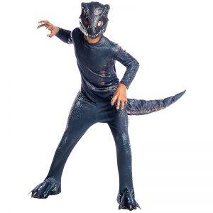 תחפושת דינוזאור מרושע אפור לילדים – עולם היורה – פורים רוביס