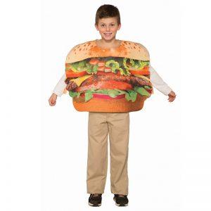 תחפושת המבורגר בלחמניה לילדים – פורים