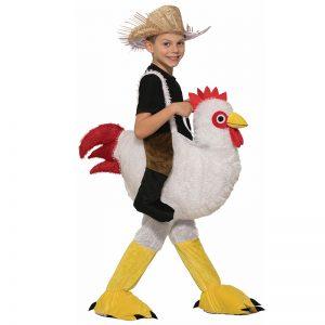 תחפושת רוכב על תרנגולת לילדים – פורים רוביס