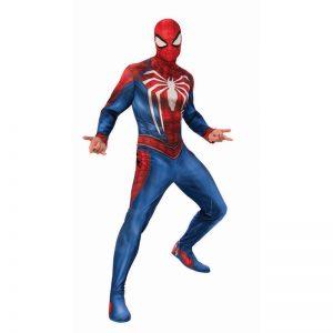 תחפושת ספיידרמן עכביש לבן לגברים – פורים רוביס