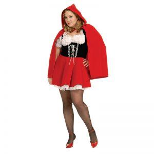 תחפושת כיפה אדומה לנשים מידות גדולות – פורים רוביס