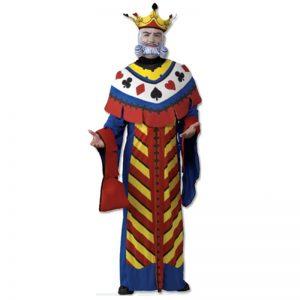 תחפושת מלך הקלפים למבוגרים – פורים רוביס