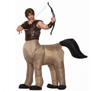 תחפושת קנטאור חצי סוס חצי אדם מתנפח למבוגרים – פורים רוביס