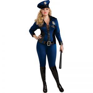 תחפושת שוטרת – אשת הצדק לנשים מידות גדולות – פורים רוביס