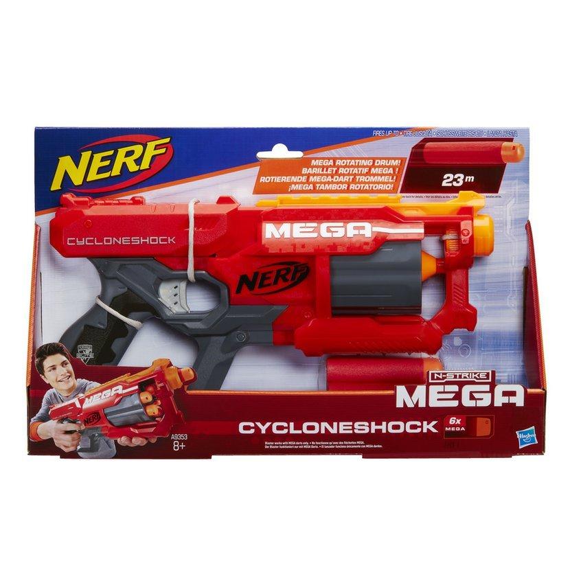 רובה נרף סיינקלון שוק – NERF MEGA CYCLONESHOCK