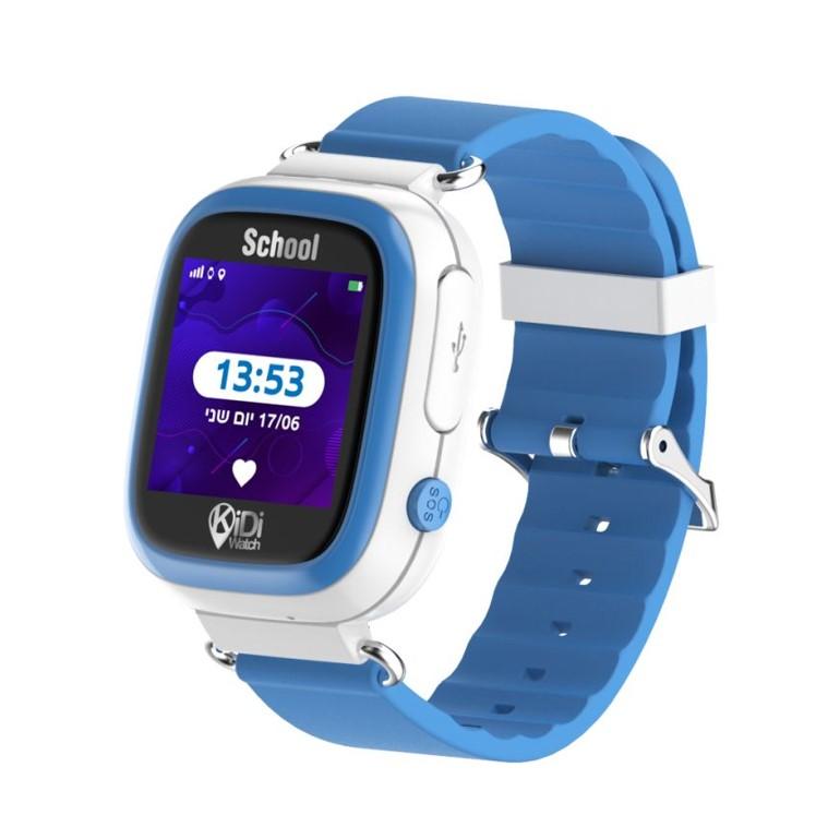 קידיוואצ' סקול שעון חכם מותאם לבית הספר – kidiwatch color תכלת