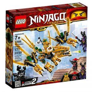 לגו נינג'גו – דרקון זהב – 70666