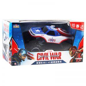 ג'יפ גדול על שלט – קפטן אמריקה