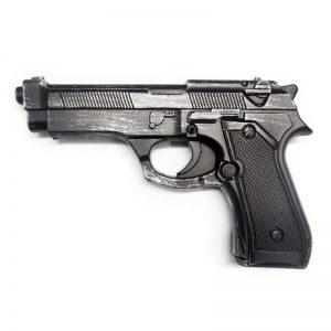 אקדח ספוג ברטה כסוף-שחור
