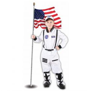 תחפושת אסטרונאוט לבן לילדים – פורים שושי זוהר