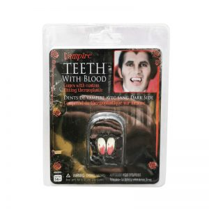 שיני ערפד עם דם – פורים רוביס
