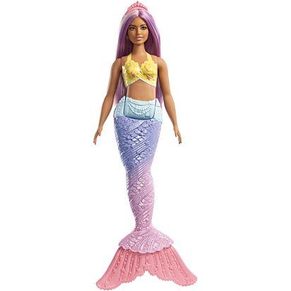 בובת ברבי בת ים סגולה