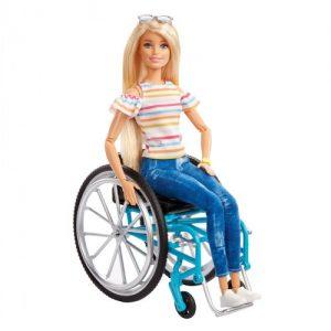 בובת ברבי בכסא גלגלים