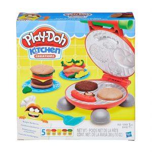 בורגר ברביקיו – פליידו משחקי בצק Play-Doh