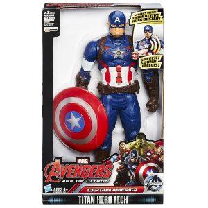דמות קפטן אמריקה מדבר