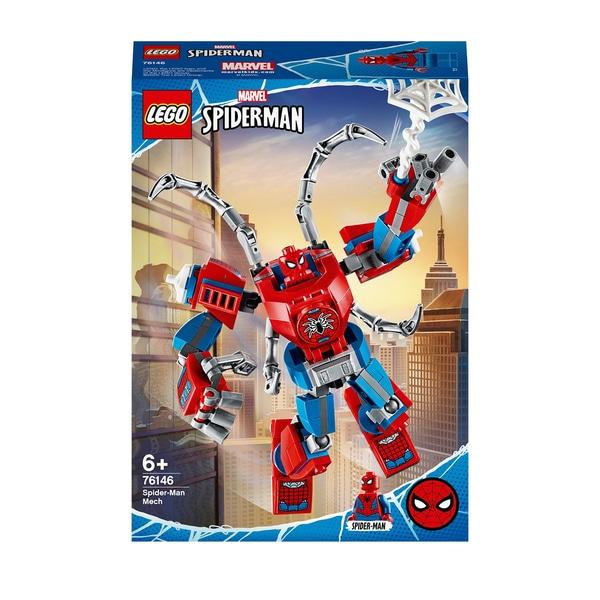 לגו גיבורי על רובוט ספיידרמן  – 76146